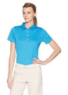 Cutter & Buck Women's Moisture Wicking 50+ UPF Short Sleeve Fiona Polo Shirt
