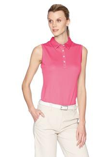 Cutter & Buck Women's Moisture Wicking Performance Sleeveless Clare Polo Shirt