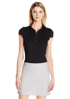 Cutter & Buck Women's Moisture Wicking Upf 50+ Cap-Sleeve Brighton Polo Shirt  XS