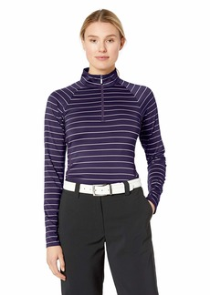 Cutter & Buck Women's Moisture Wicking UPF 50+ Long Sleeve Evie Half Zip Pullover  XSmall