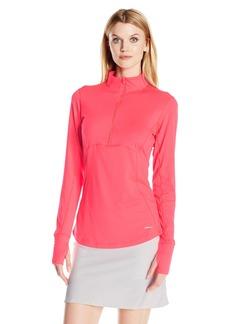 Cutter & Buck Women's Moisture Wicking UPF 50+ Long-Sleeve Izaria Half Zip Pullover  XS