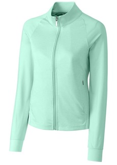 Cutter & Buck Women's Moisture Wicking UPF 50+ Long-Sleeve Lena Full Zip Jacket  M