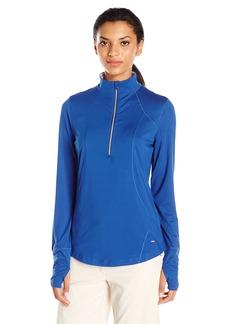 Cutter & Buck Women's Moisture Wicking UPF 50+ Long-Sleeve Nerina Half Zip Pullover  S