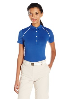 Cutter & Buck Women's Moisture Wicking UPF 50+ Short Sleeve Alanis Polo Shirt  S