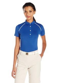 Cutter & Buck Women's Moisture Wicking UPF 50+ Short Sleeve Alanis Polo Shirt  XL