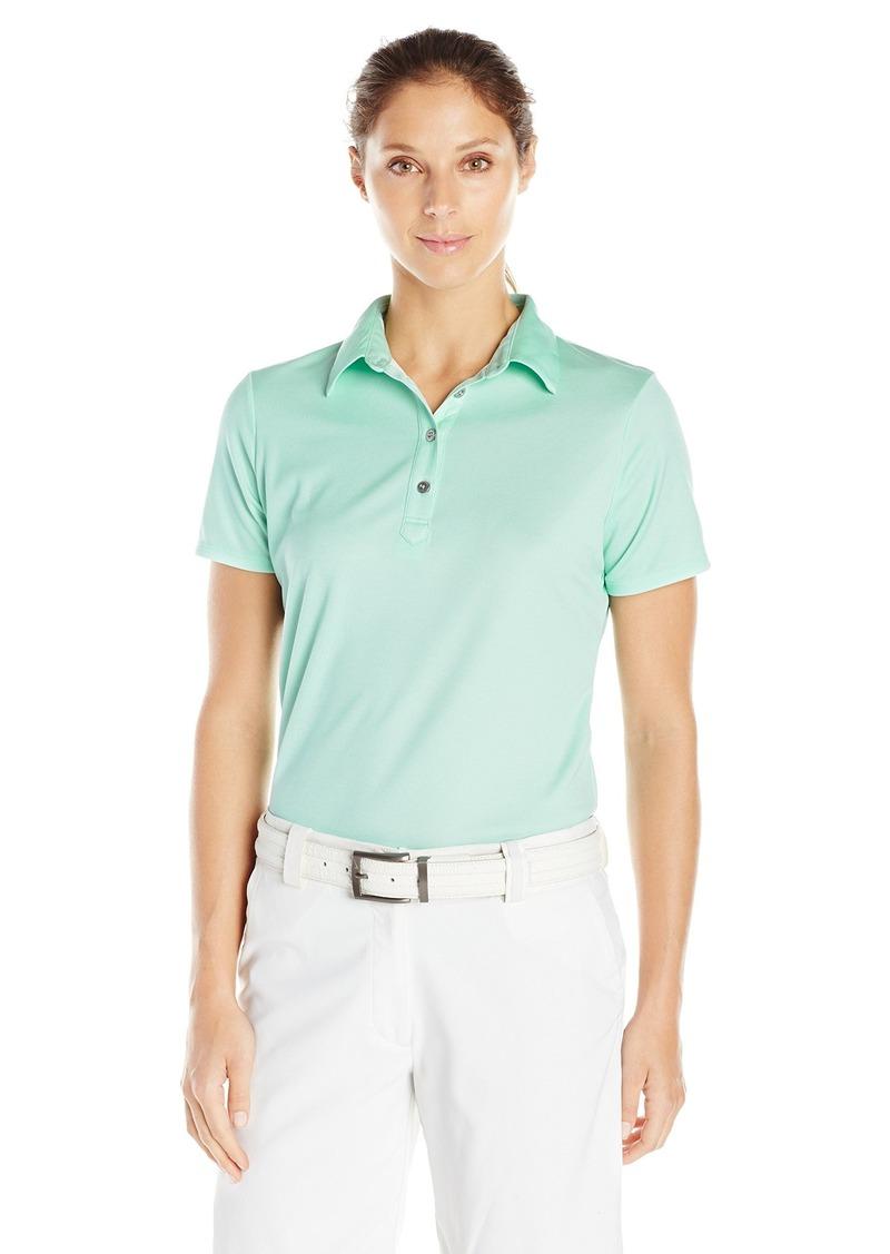Cutter & Buck Women's Moisture Wicking UPF 50 Short-Sleeve Fiona Polo Shirt  L