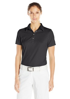 Cutter & Buck Women's Moisture Wicking Tonal Stripe Fiona Short Sleeve Polo Shirt