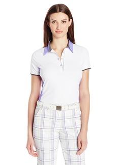 Cutter & Buck Women's Moisture Wicking Upf 50+ Short-Sleeve Marietta Polo Shirt  XS