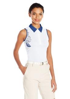 Cutter & Buck Women's Moisture Wicking Upf 50+ Sleeveless Careen Polo Shirt  XS