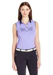 Cutter & Buck Women's Moisture Wicking UPF 50+ Sleeveless Charis Polo Shirt  S