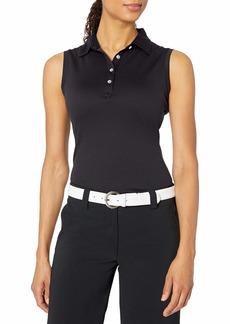 Cutter & Buck Women's Moisture Wicking UPF 50+ Sleeveless Clare Polo Shirt  M