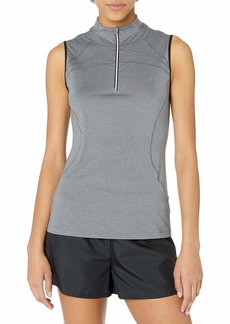 Cutter & Buck Women's Moisture Wicking UPF 50+ Sleeveless Milia Funnel Neck Active Shirt  S