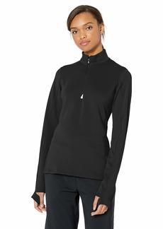 Cutter & Buck Women's Moisture Wicking UPF 50+ Stretch Traverse Half Zip Pullover