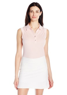 Cutter & Buck Women's Moisture Wicking Sleeveless Charlie Oxford Polo Shirt  M