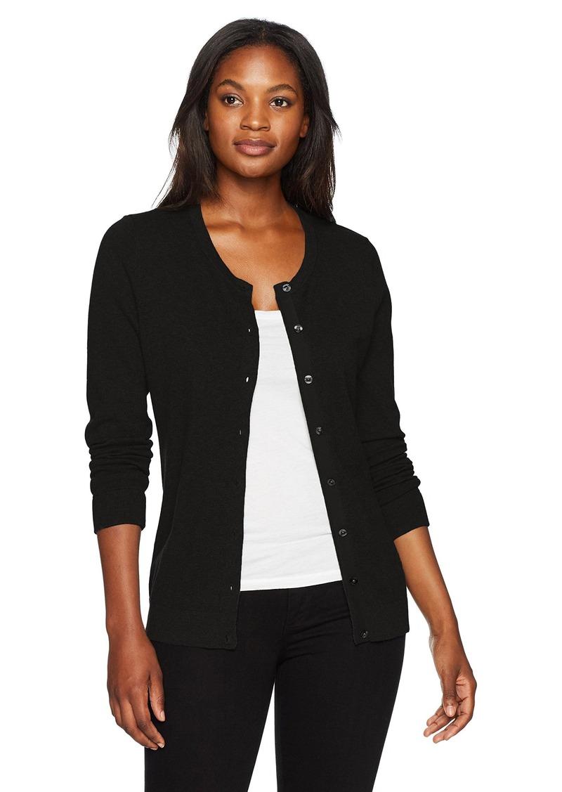 Cutter & Buck Women's Soft Cotton Blend Lakemont Long Sleeve Cardigan Sweater  XL