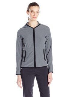 Cutter & Buck Women's Water Repellent Lightweight Stretch Calla Full Zip Wind Jacket  M