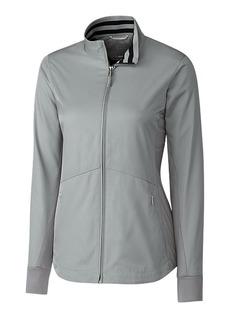 Cutter & Buck Women's Water Resistant Twill Nine Iron Full Zip Lightweight Jacket