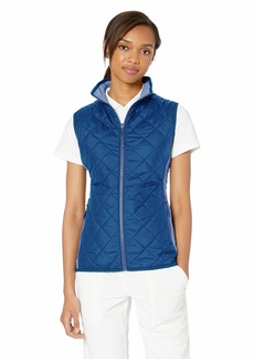 Cutter & Buck Women's Water-Wind Resistant Sandpoint Quilted Vest with Pockets  XXLarge