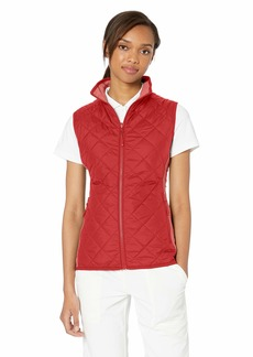 Cutter & Buck Women's Water-Wind Resistant Sandpoint Quilted Vest with Pockets Cardinal red XSmall