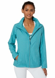 Cutter & Buck Women's Weathertec Wind-Water Resistant Packable Panoramic Jacket  XXLarge