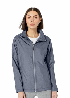 Cutter & Buck Women's Weathertec Wind-Water Resistant Packable Panoramic Jacket  XLarge