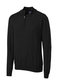 Cutter & Buck Cutter and Buck Men's Big and Tall Long Sleeves Douglas Half Zip Mock Sweater