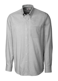 Cutter & Buck Men's Big & Tall Long Sleeves Epic Easy Care Tattersall Shirt