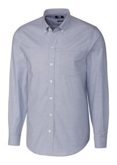 Cutter & Buck Men's Big & Tall Long Sleeves Stretch Oxford Shirt