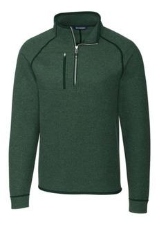 Cutter & Buck Men's Big and Tall Mainsail Half Zip Sweater