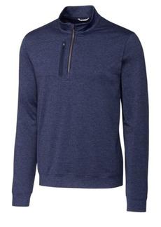 Cutter & Buck Men's Big & Tall Stealth Half Zip Sweatshirt