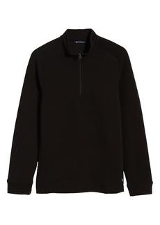 Men's Big & Tall Cutter & Buck Coastal Ribbed Half Zip Pullover