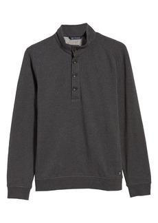 Men's Big & Tall Cutter & Buck Saturday Mock Neck Sweatshirt