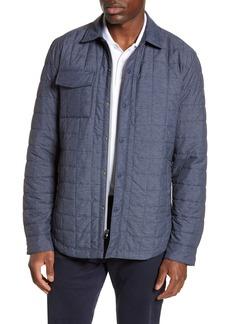 Men's Big & Tall Cutter & Buck Rainier Primaloft Insulated Shirt Jacket