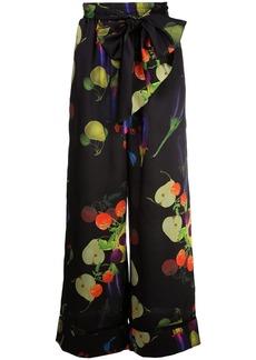 Cynthia Rowley Bianca wide-leg trousers