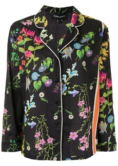 Cynthia Rowley botanical print pyjama shirt