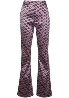 Cynthia Rowley Breslin flared trousers