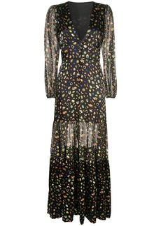 Cynthia Rowley Caroline tiered maxi dress