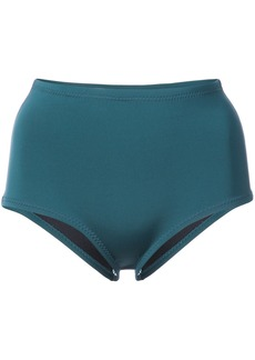 Cynthia Rowley Betty high waisted bikini bottom - Green