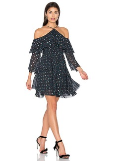 Cynthia Rowley Cold Shoulder Dress in Blue. - size 2 (also in 4,6)