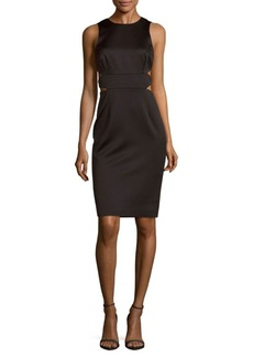 Cynthia Rowley Cutout Sheath Dress