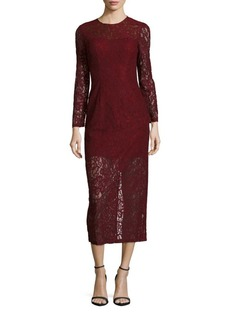 Cynthia Rowley Delicate Fitted Lace Dress