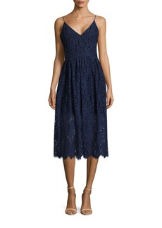 Cynthia Rowley Floral Lace Sleeveless Dress