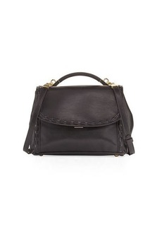 Cynthia Rowley Gemma Lacing Smooth Satchel Bag