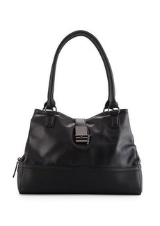 French Connection Glory Faux-Leather Satchel Bag