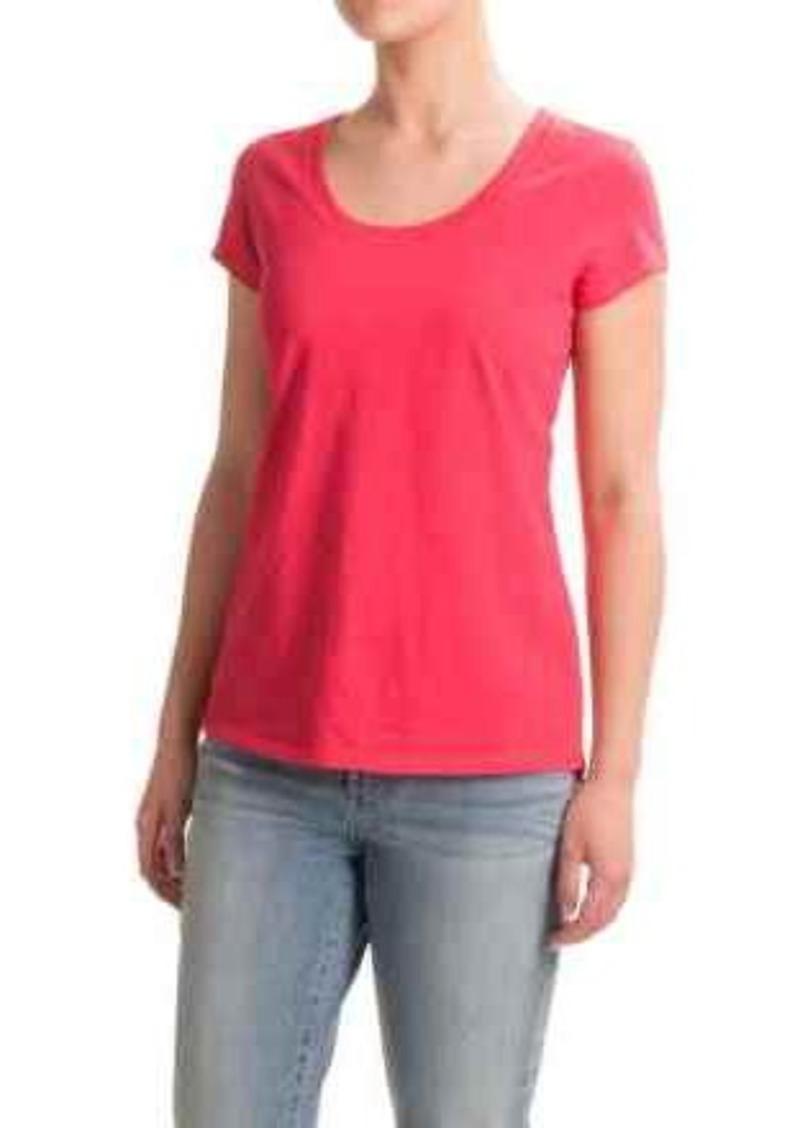 Cynthia Rowley Cynthia Rowley High Low Slub T Shirt