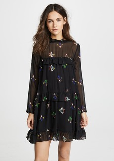 Cynthia Rowley High Tide Tiered Dress