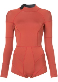 Cynthia Rowley high tide wetsuit - Yellow & Orange