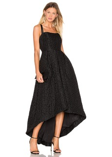 Cynthia Rowley Jacquard High Low Gown