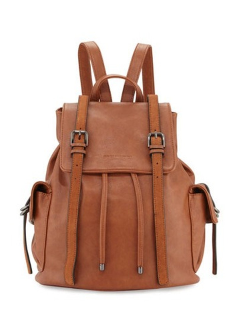 Cynthia Rowley Kyle Faux-Leather Flap Backpack