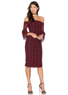 Cynthia Rowley Lace Off The Shoulder Dress